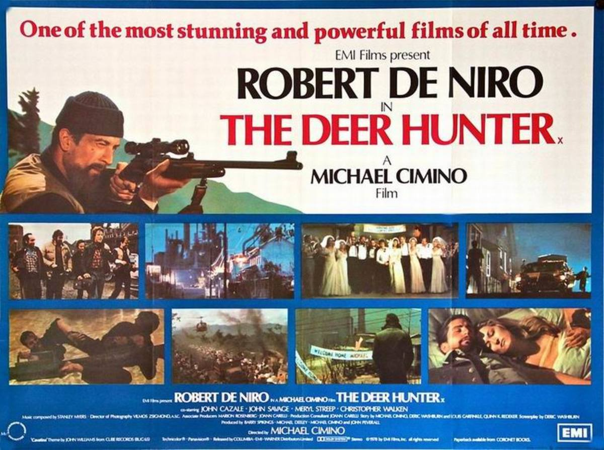 The Deer Hunter (1978) UK poster