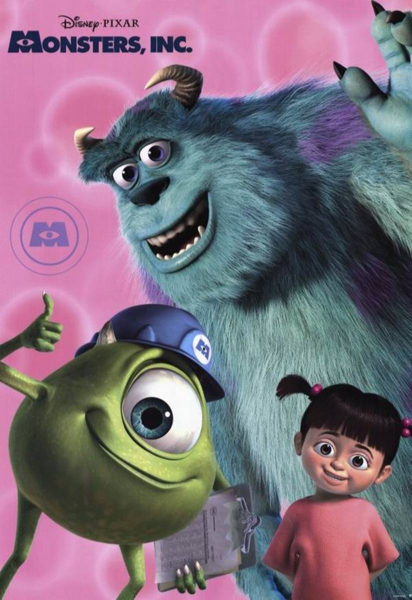 Monsters, Inc (2001)
