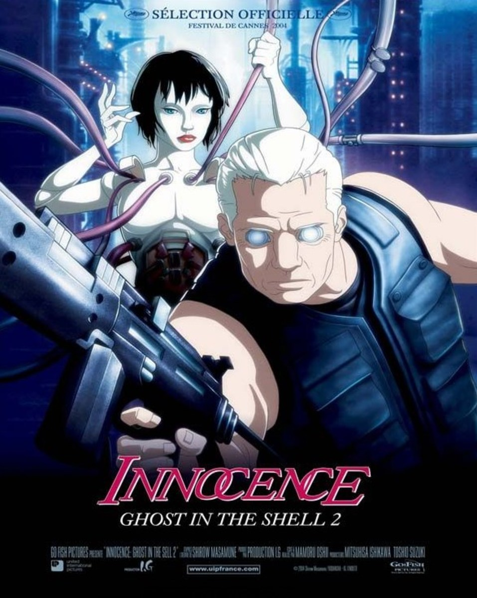 Ghost in the Shell 2: Innocence (2004) French poster