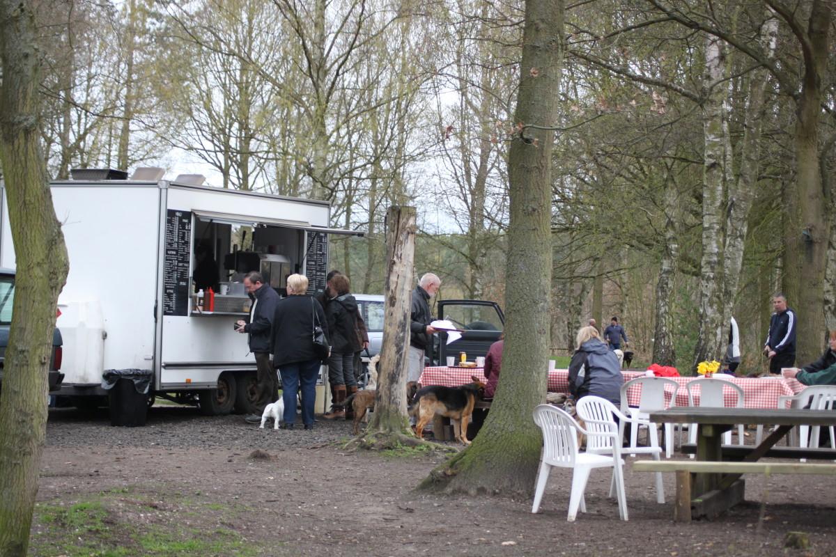 Blidworth Cafe off Longdale Lane, Blidworth Woods