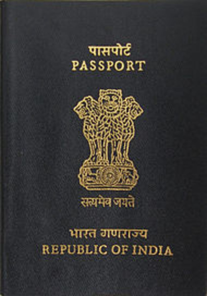 My Own Indian Passport