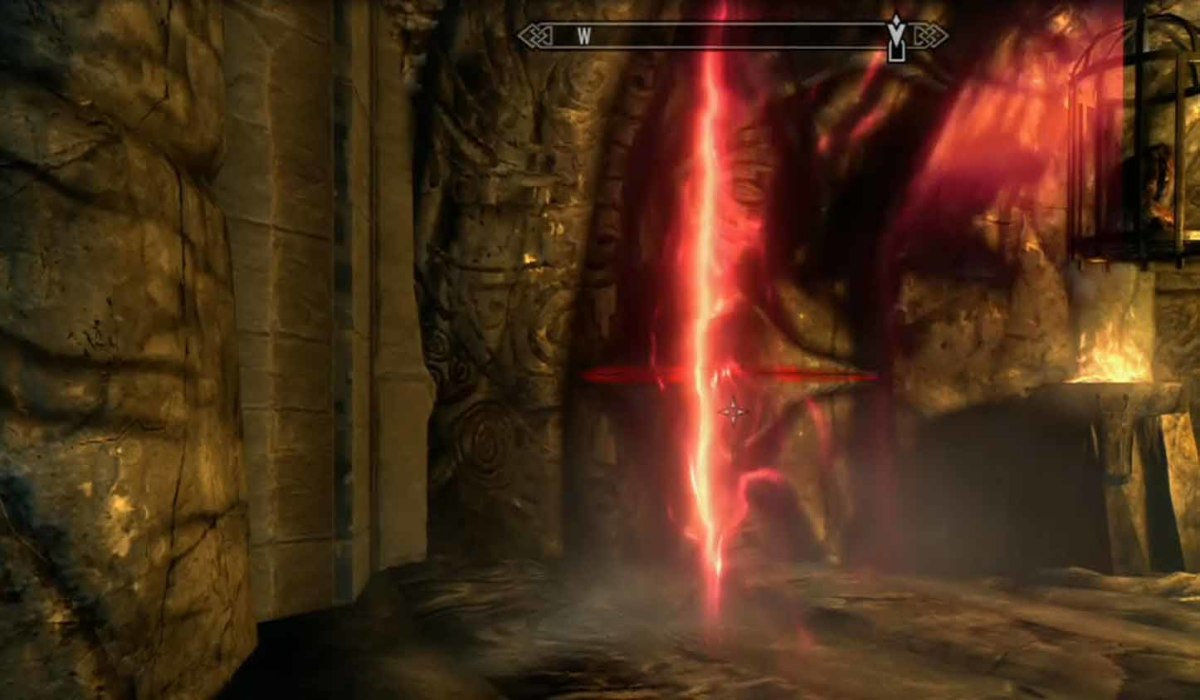 Skyrim Escape from Bloodskal Barrow