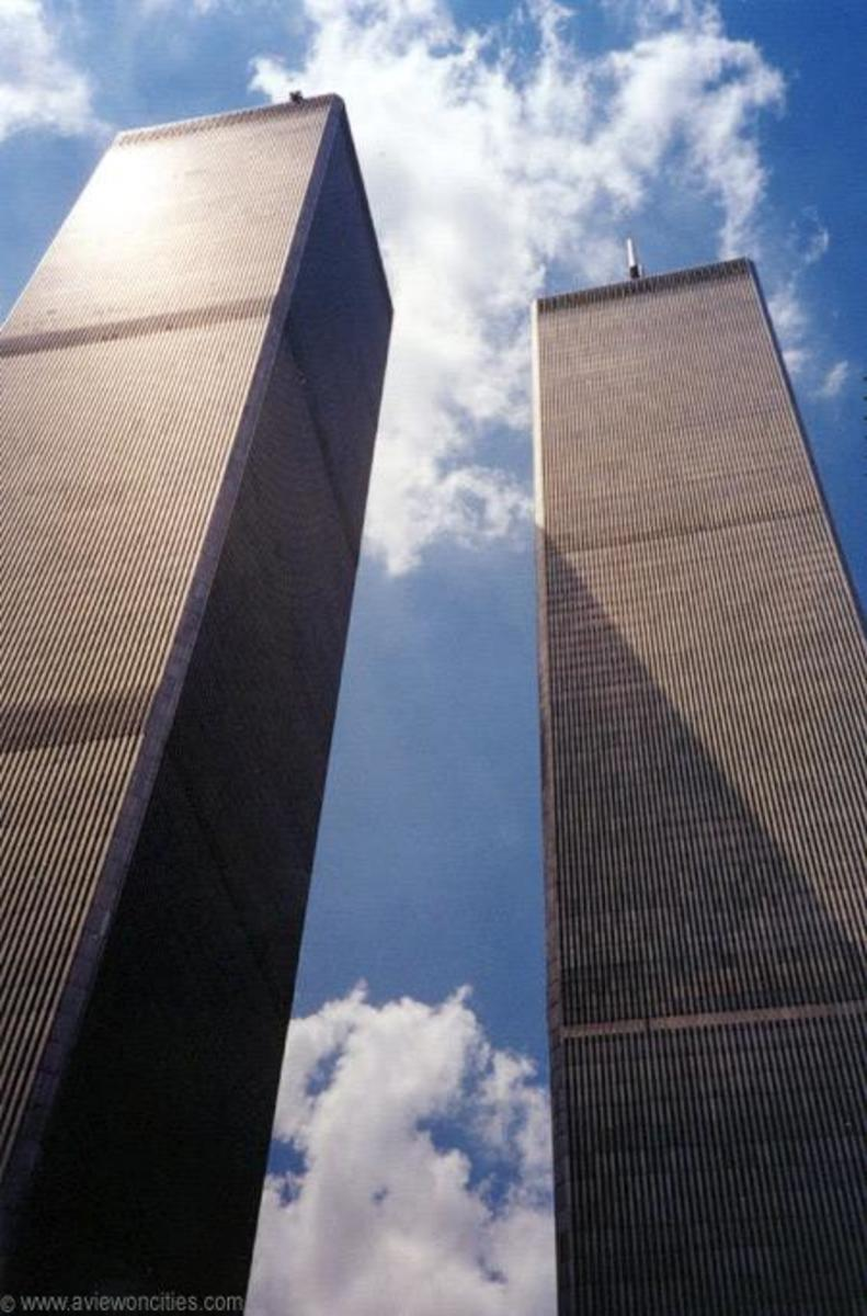 This was the glory of the WTC towers 1 and 2 before their destiny with fate on that day of infamy on September 11th, 2001.