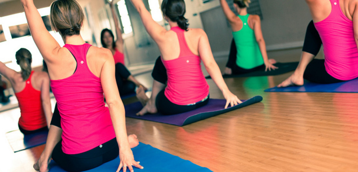 Try something new and exciting like yoga, kickboxing or Zumba.