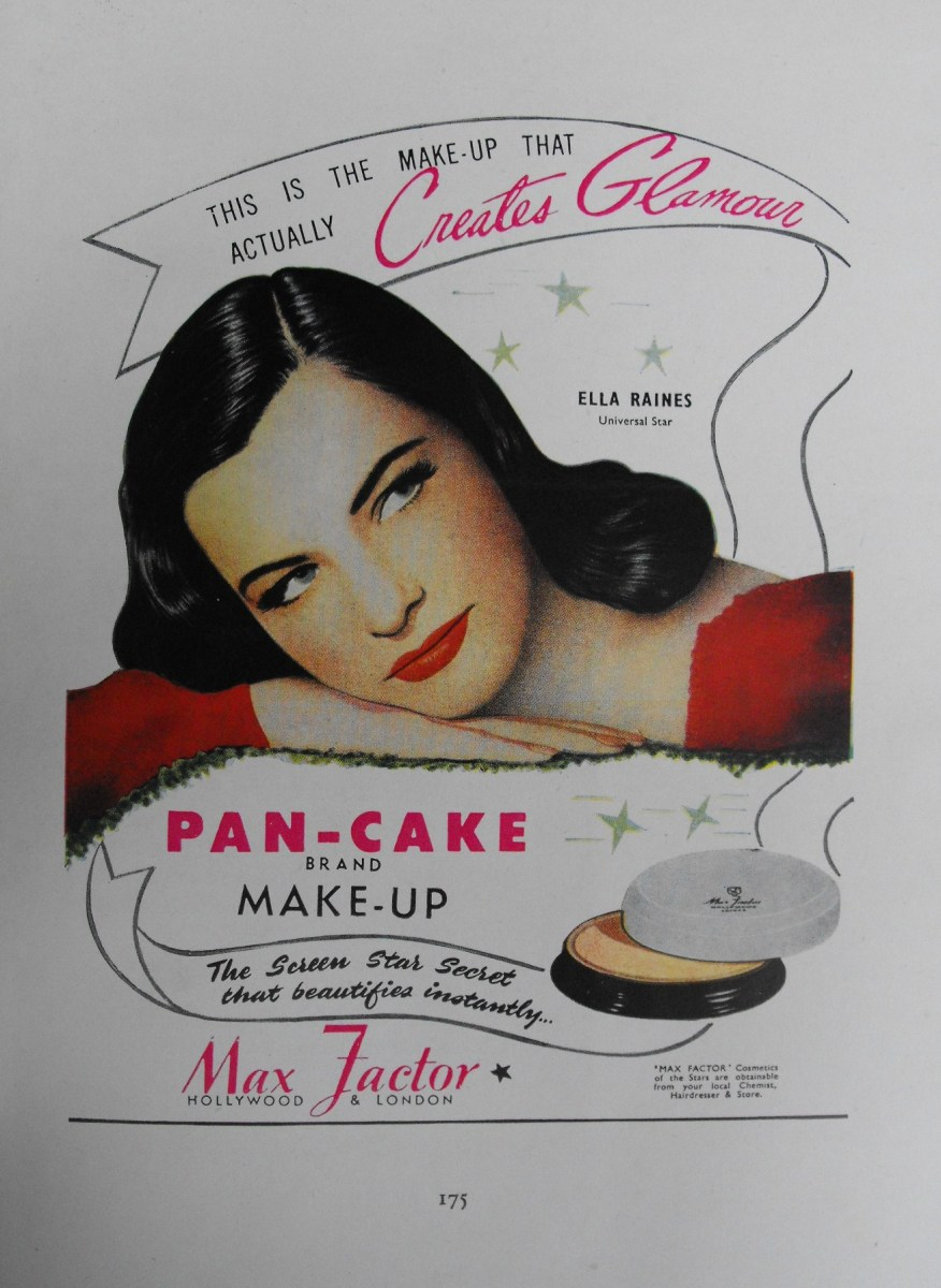 pan-cake make up the brainchild of Max Factor.