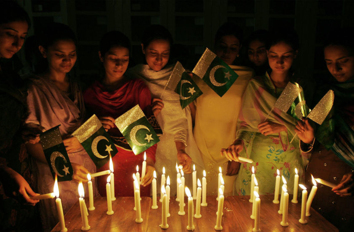 Independence day in Pakistan is cause for celebration.