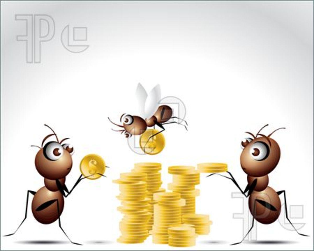 Ants Character Cartoon Illustration