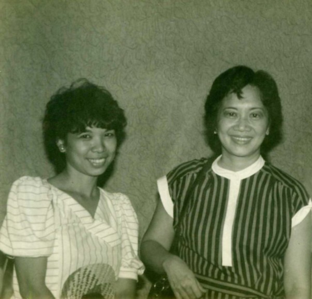 A very young me with the late President Corazon Aquino