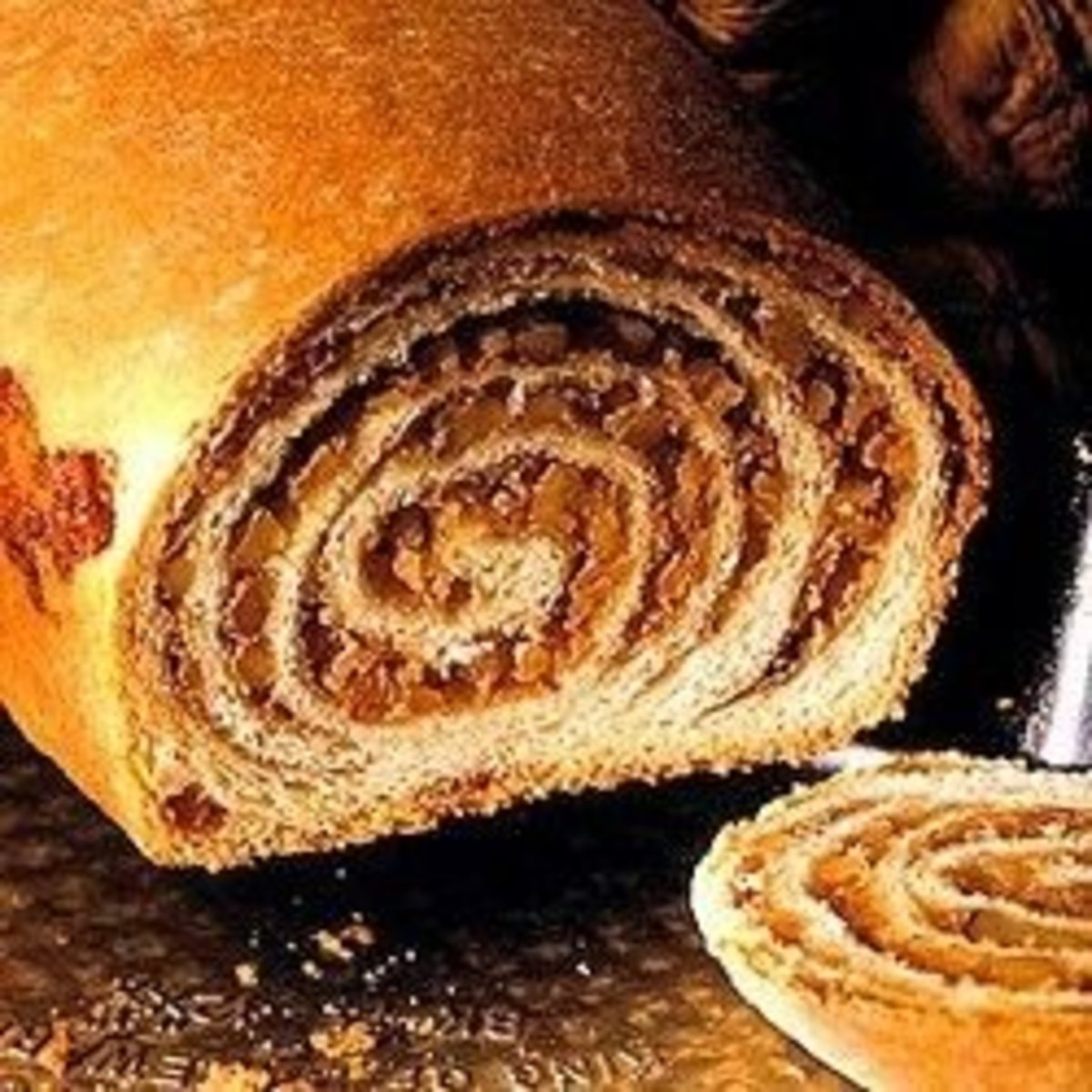 Potica or Povitica:  Walnut Pinwheel Bread Recipes
