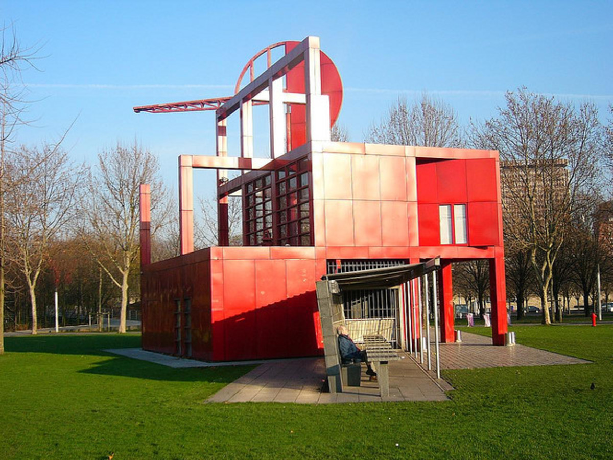 At the Parc de la Villette in Paris, France
