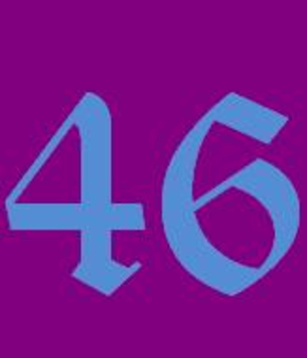 Math Facts Of The Number 46 And Other Fun Facts About Forty-Six.