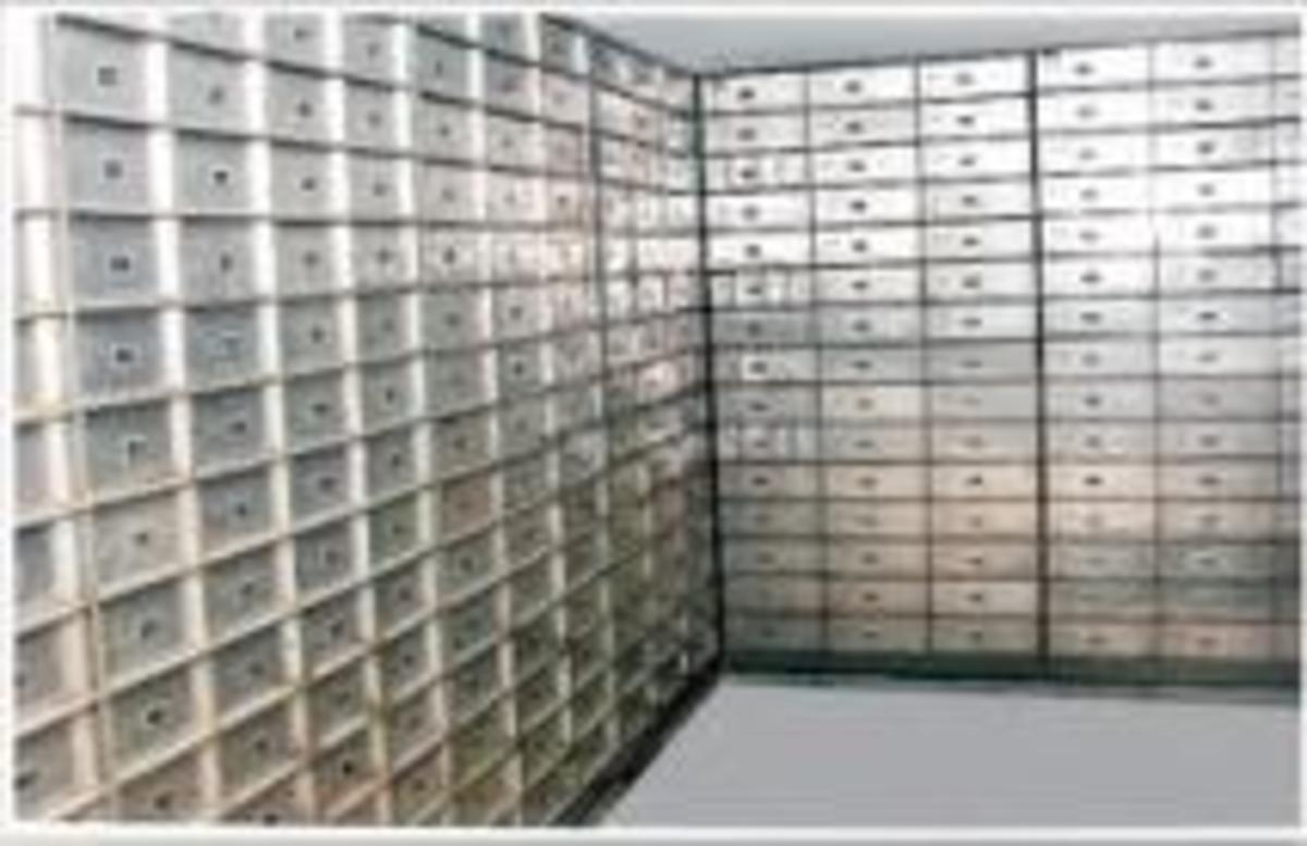 How Secured are Bank Lockers? CCTV in Banking Vaults - Know all about third Keyhole