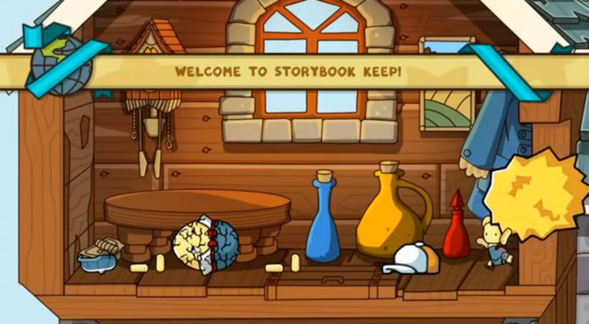 Scribblenauts Unlimited walkthrough: Storybook Keep and Dot