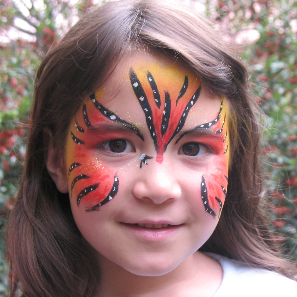 be creative and make your own face paint and use to add a bit of fun to makeup for your kids.