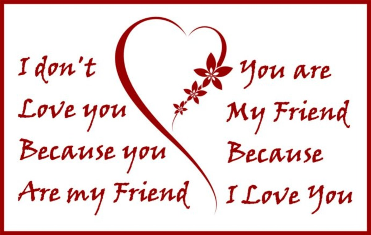 valentine poem for friends