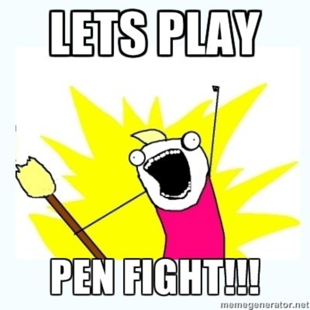 pen-fight