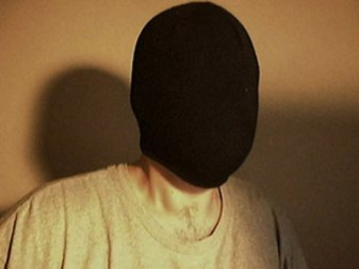 The faceless mask of the narcissist/sociopath/psychopath