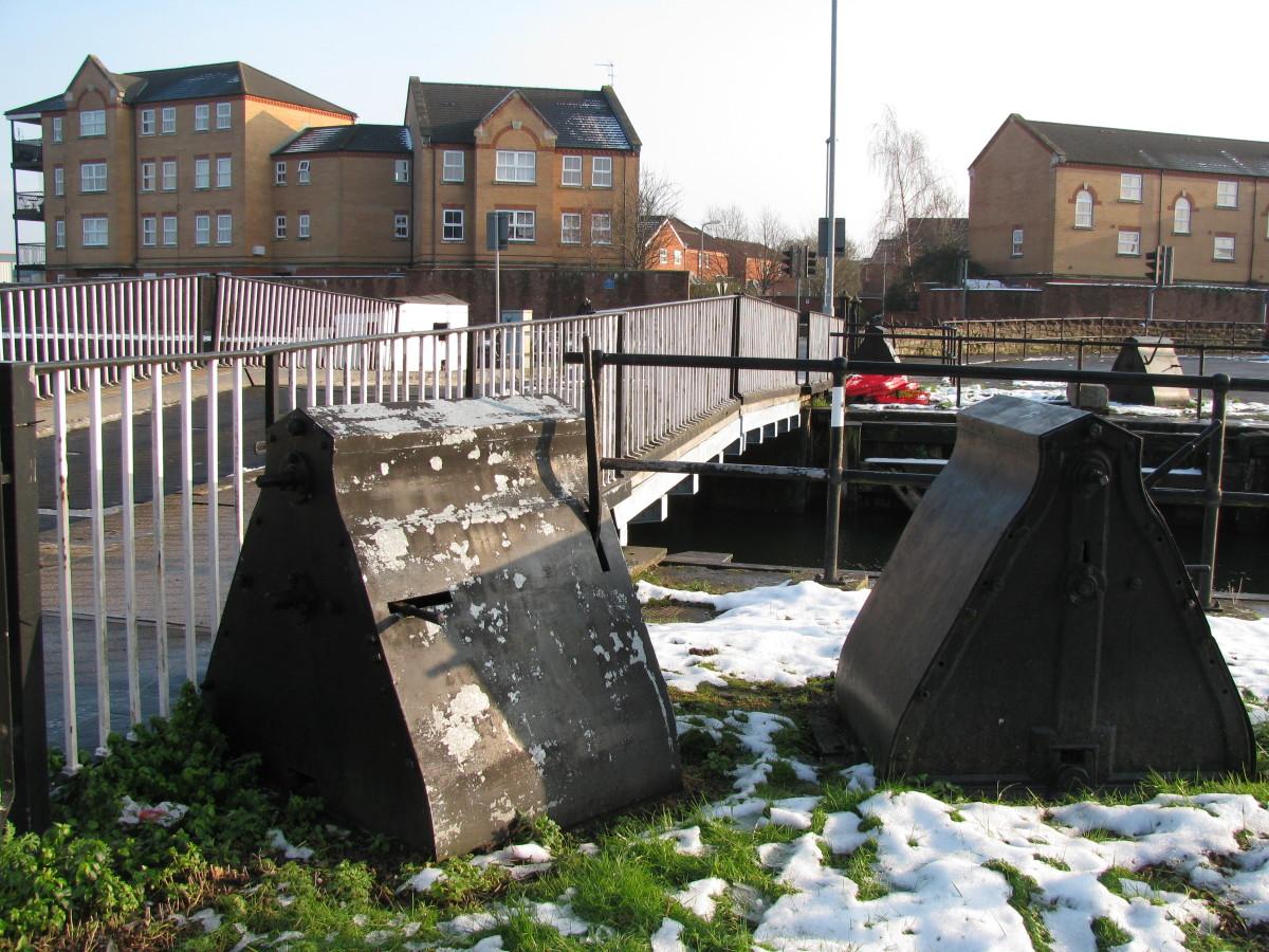 Part of the Mechanisms for raising the Bridge