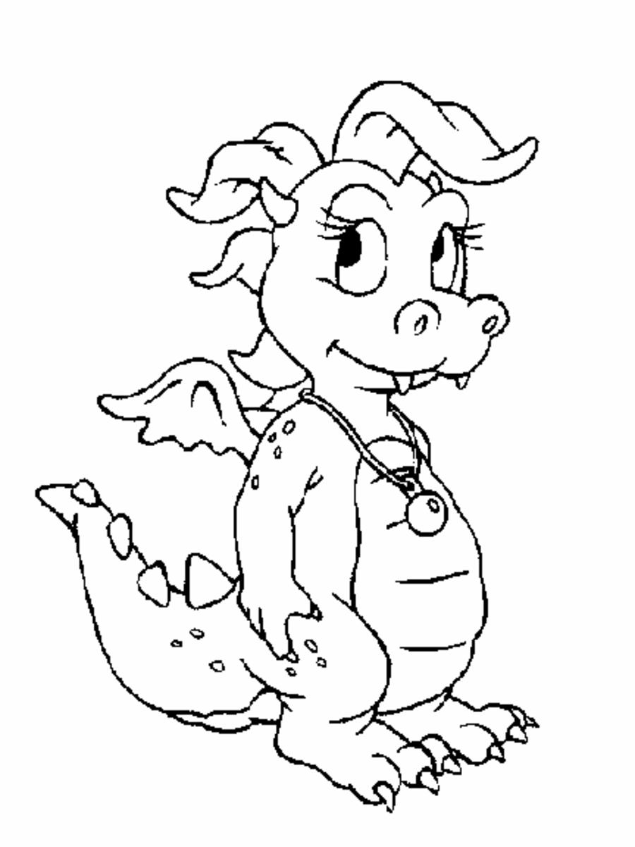 dragonprintablecoloringpages
