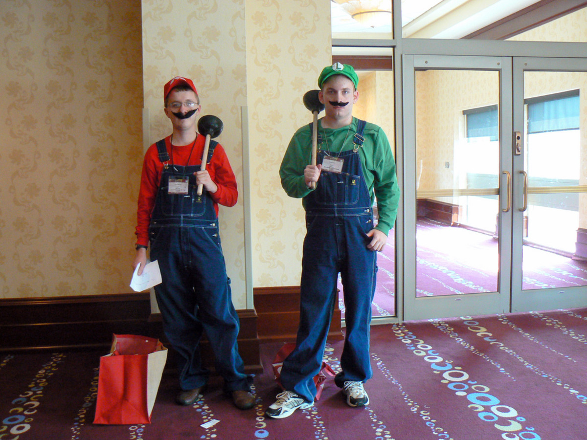 An example of a Mario (and Luigi) costume.
