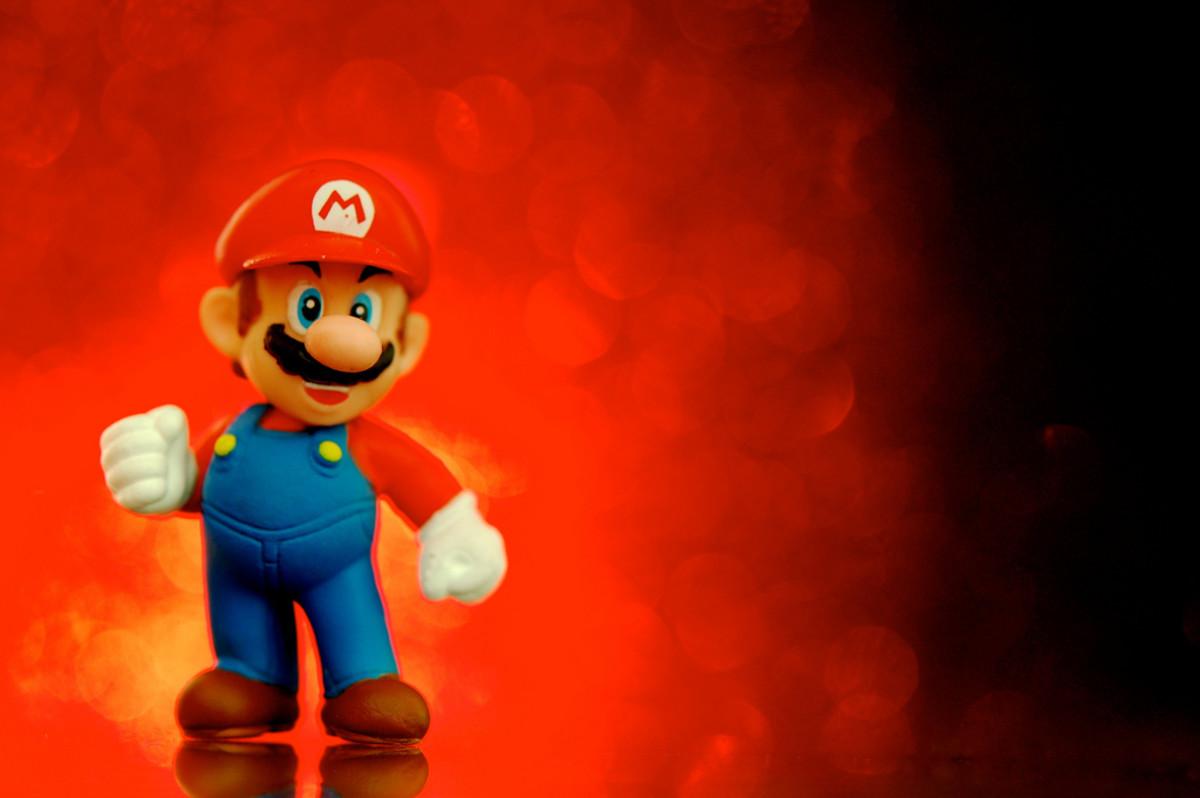 Dressing as Mario is very easy.