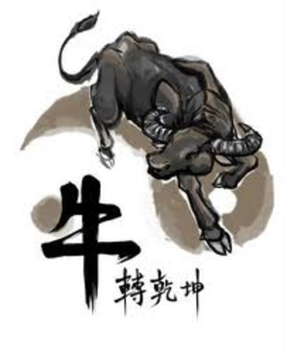 Year of the Ox Chinese Zodiac Sign