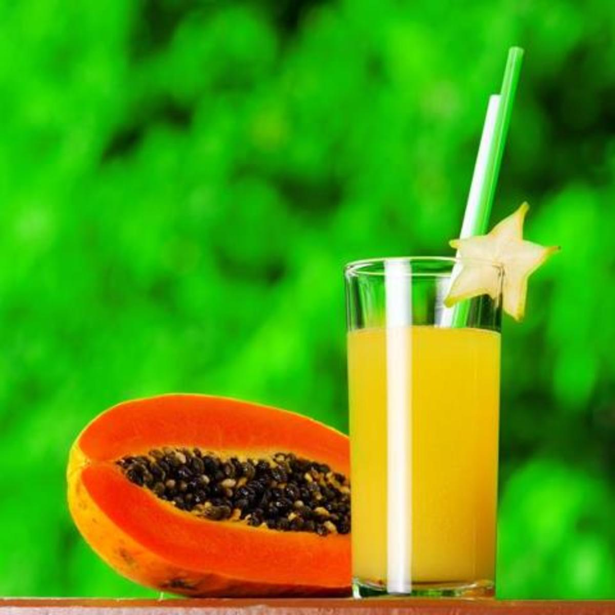 papaya juice prevents various diseases