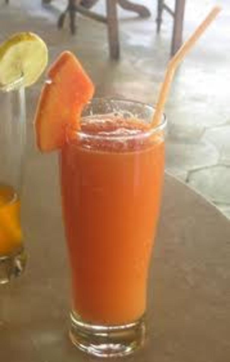 drink at least one glass of papaya juice daily