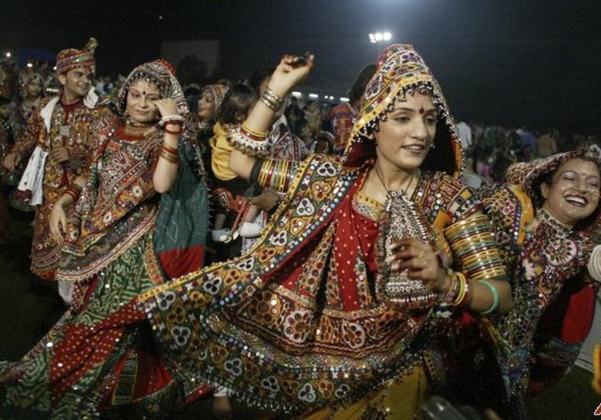 Gujrati_garba dance
