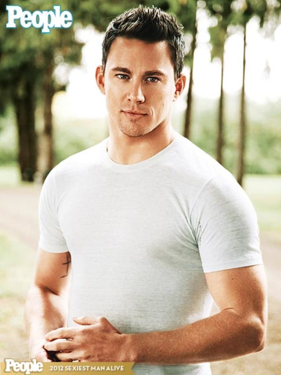 2012 People Magazine's Sexiest Man Alive: Channing Tatum