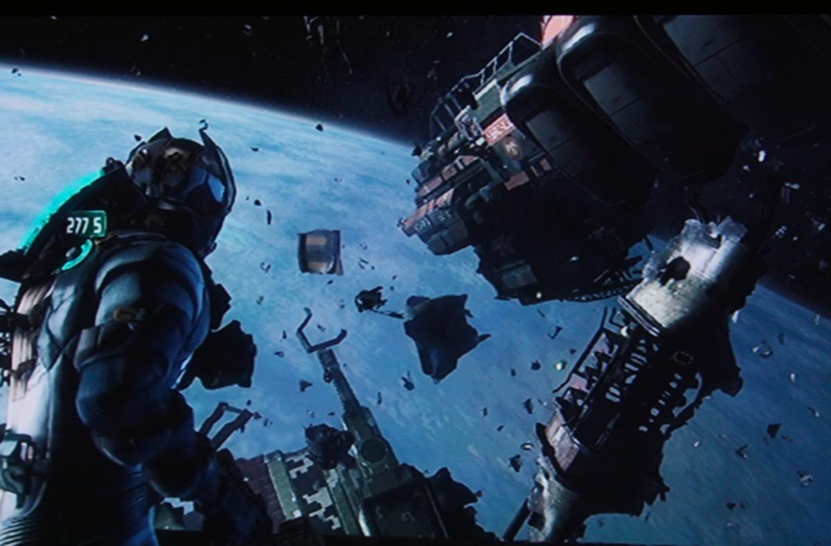 Dead Space 3 walkthrough, Part Seven: Terra Nova