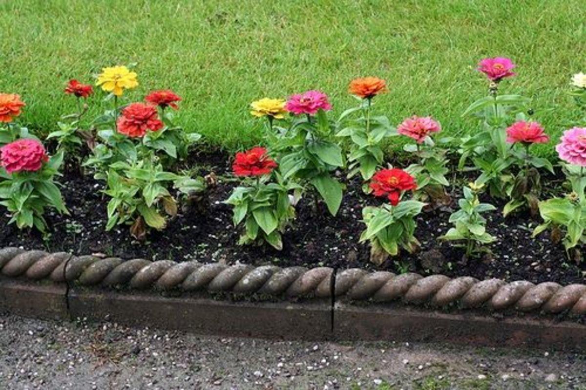 Concrete Garden Borders