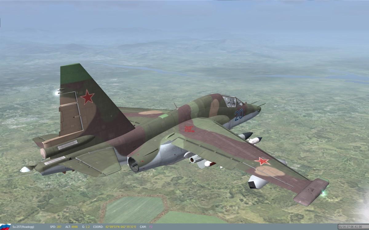 SU-25T Comes Free