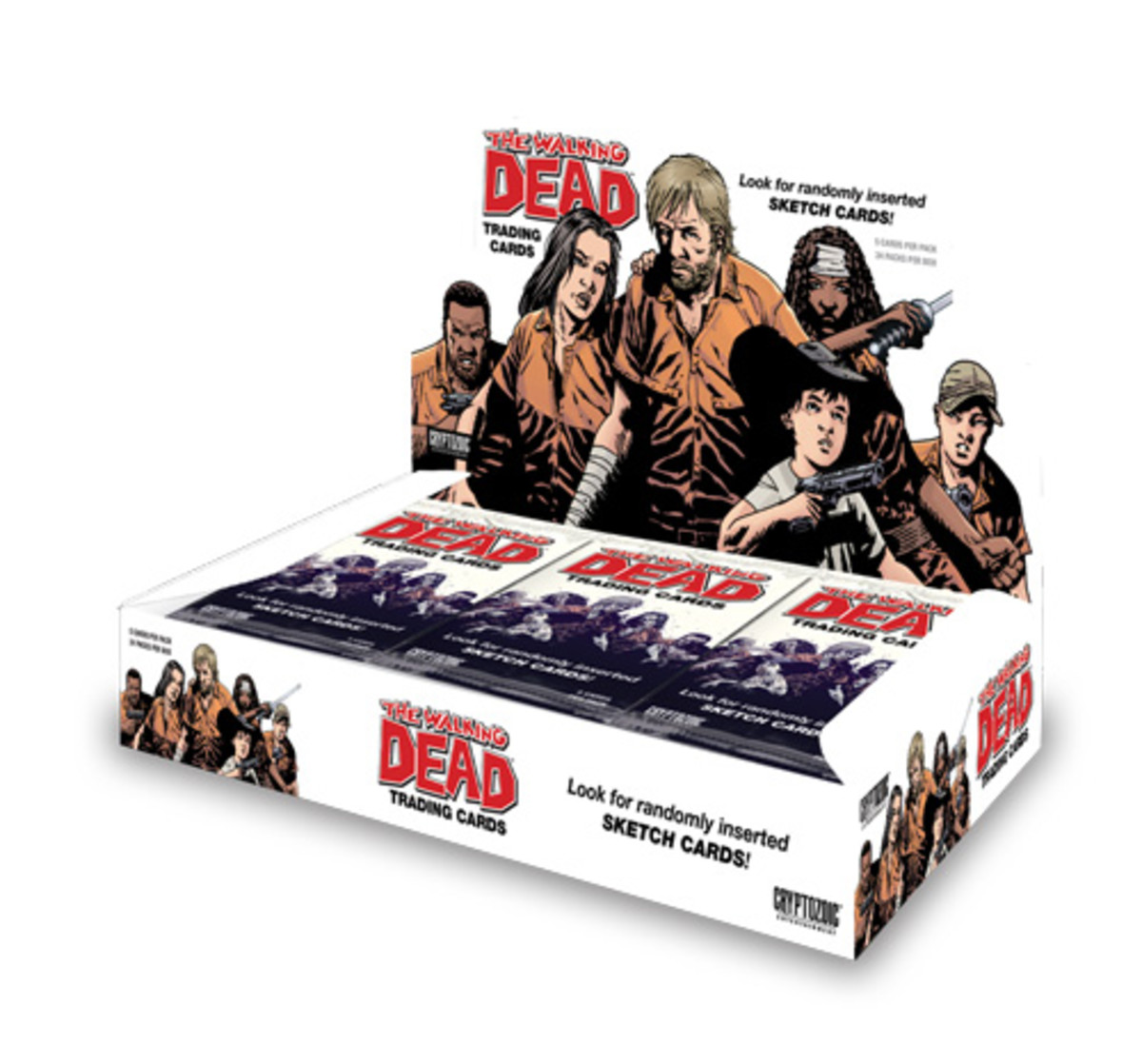 The Walking Dead Comic Trading Cards - A Collectors Guide