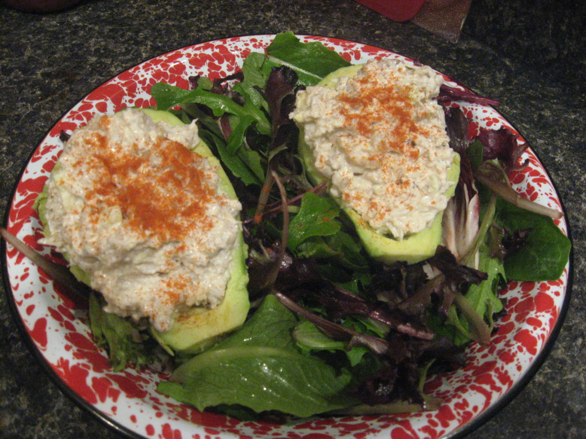 Crab And Avocado Salad
