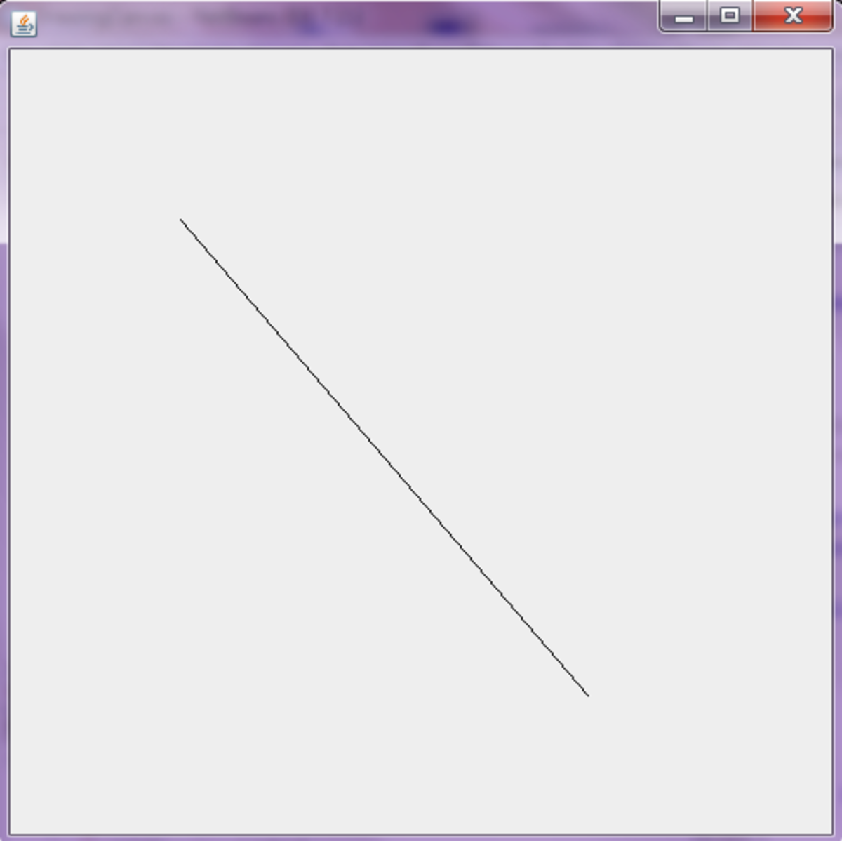 Drawing Lines In Jframe : Programming basic d shapes in java using graphics and