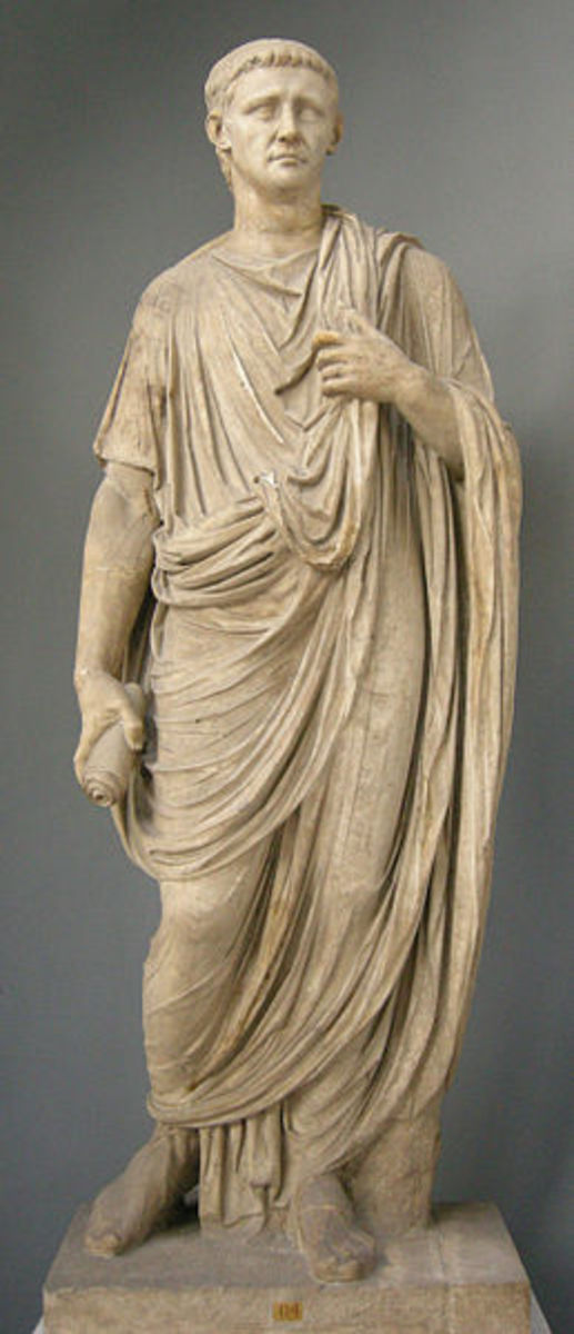 Emperor Claudius in Toga