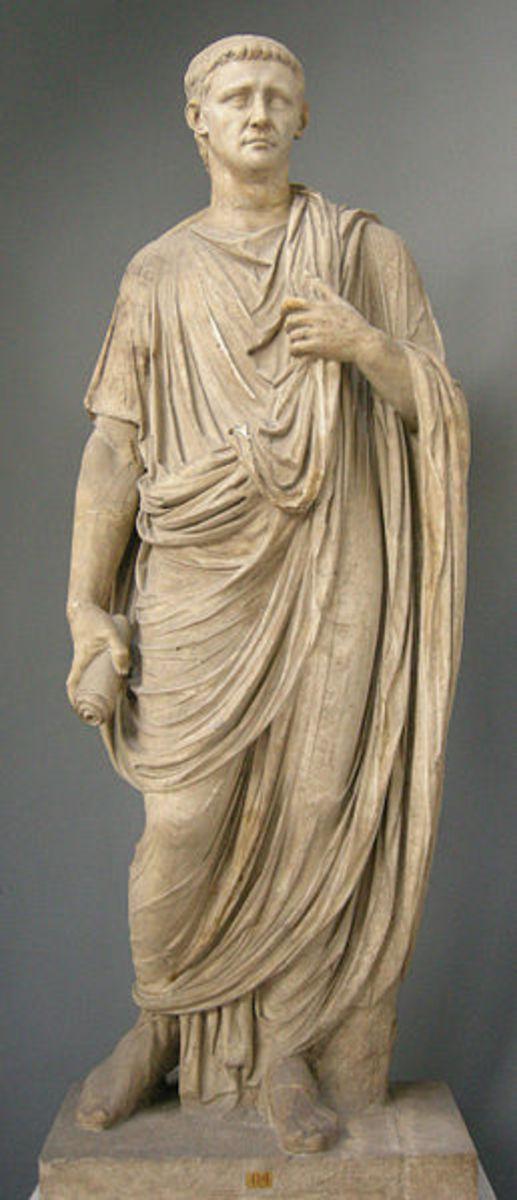 Emperor Claudius in Toga