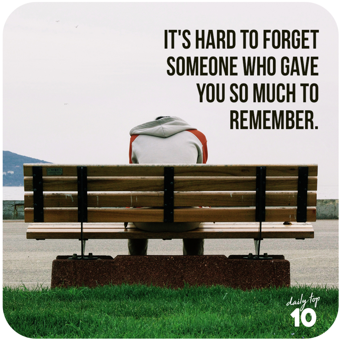 It's hard to forget.