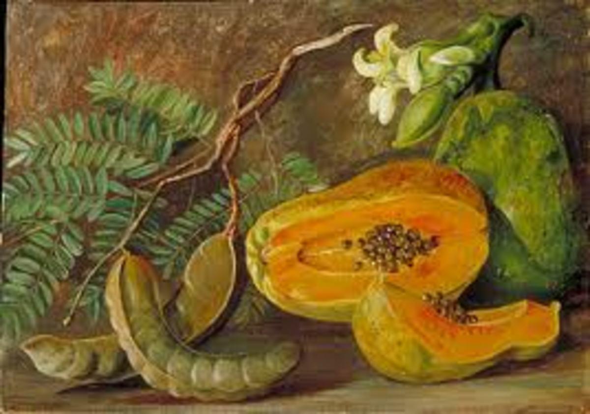 Health Benefits of Tropical Fruits; Tamarind and Papaya