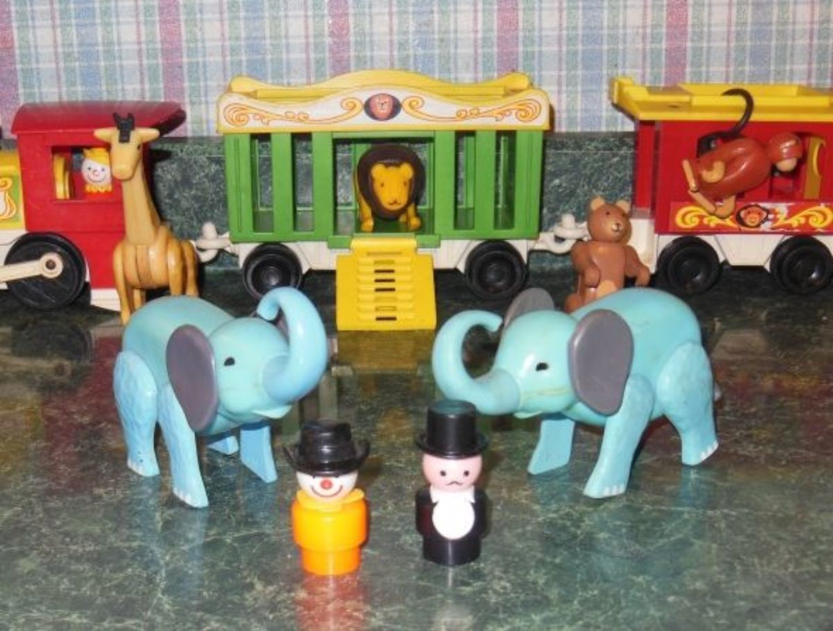 This was my all time favorite Fisher Price Toy - the Circus Train