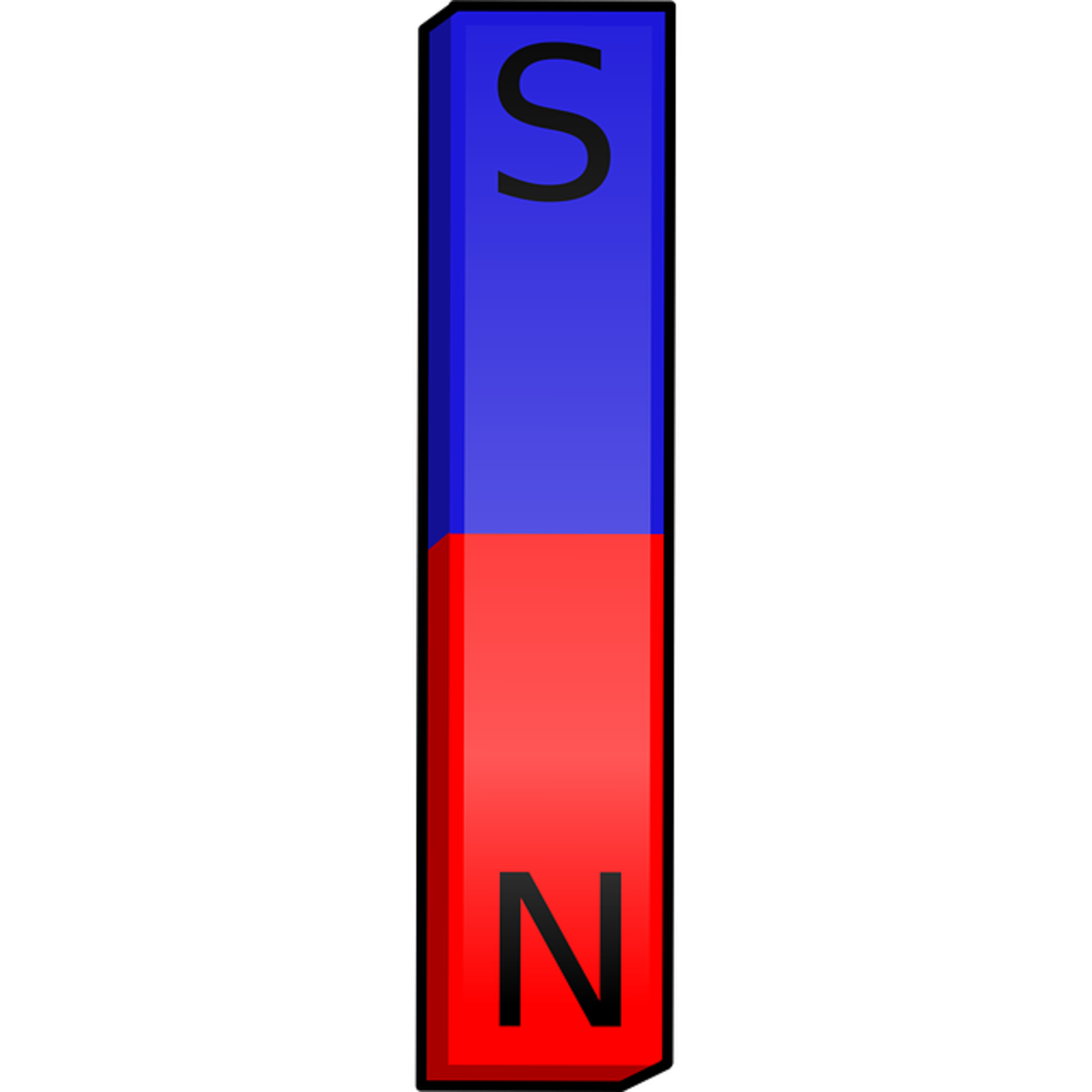Magnets have north and south poles