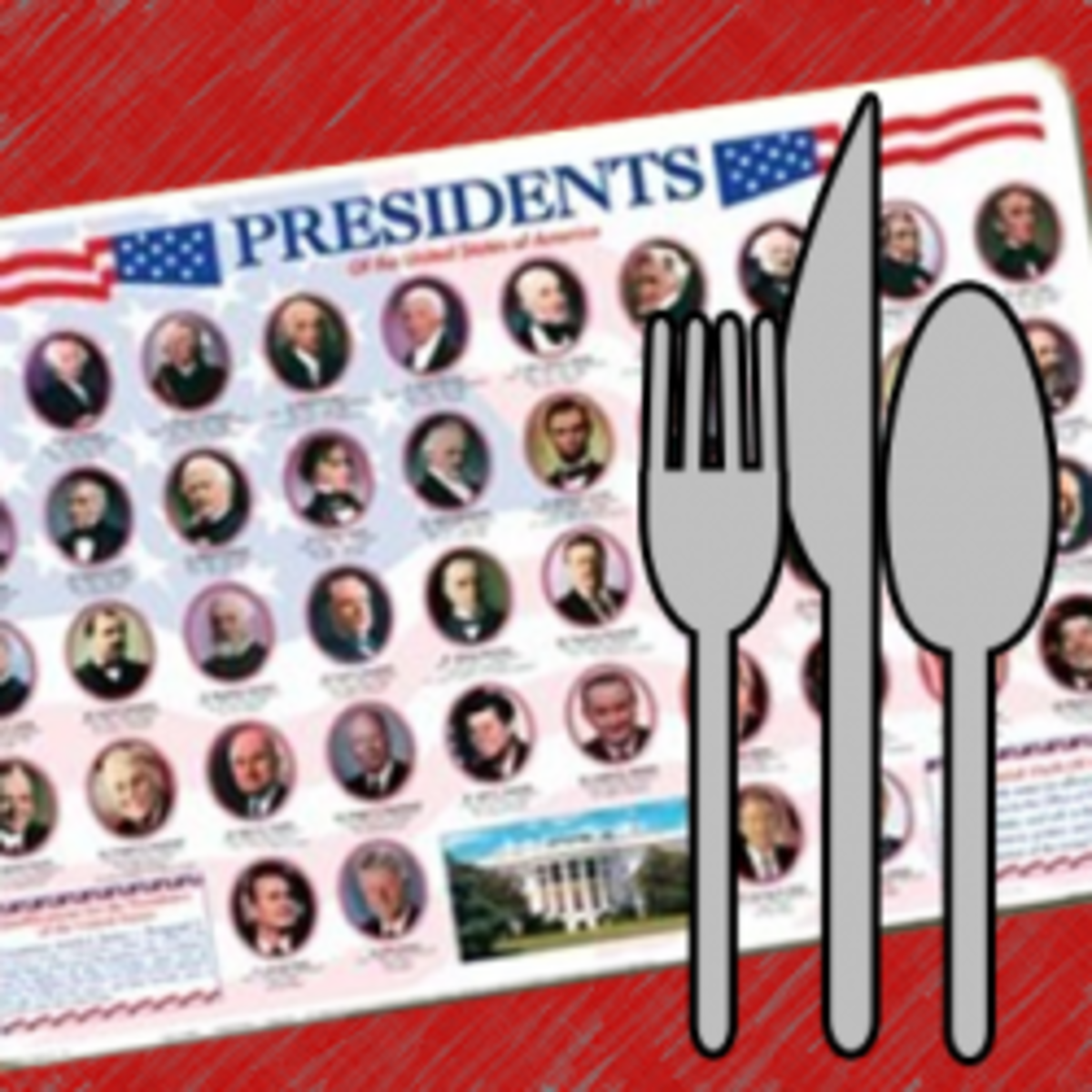 United States and US Presidents Educational Placemats
