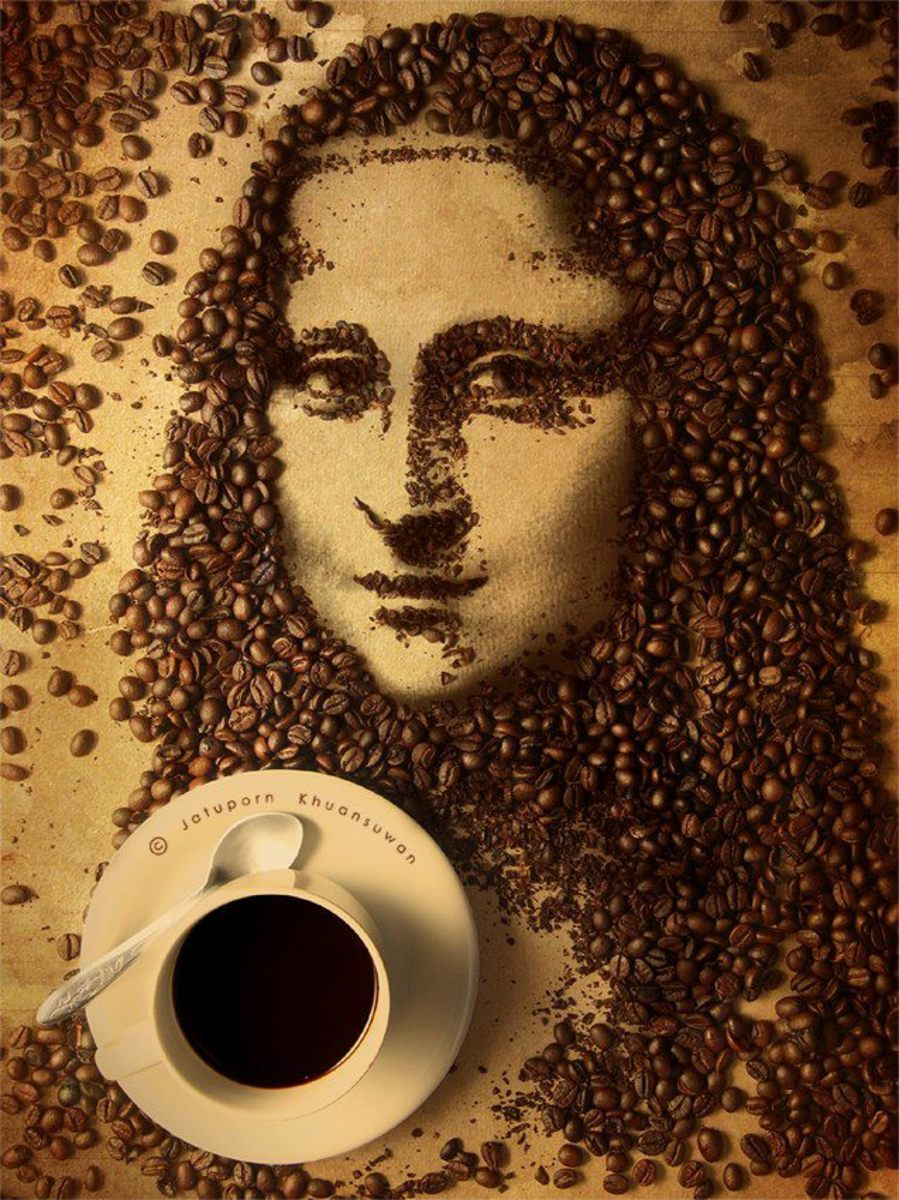 An Easy Way To Paint With Coffee