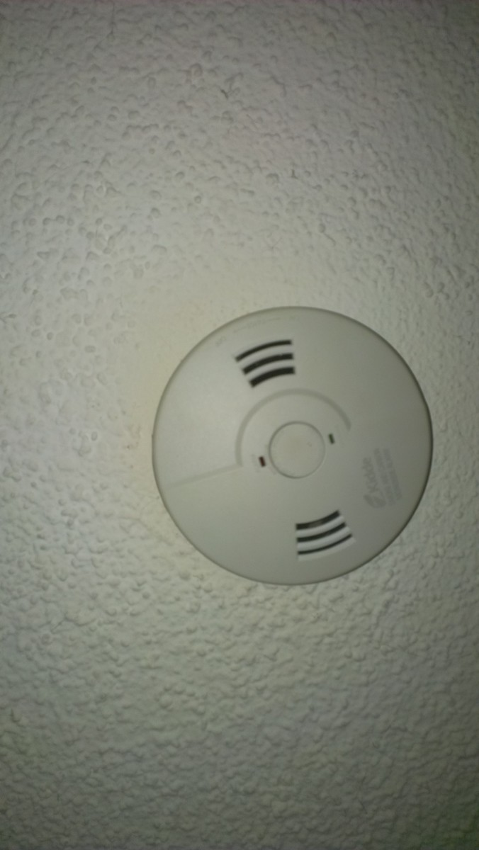 Most smoke detectors have lights or sounds to warn us of low batteries, but if you went on vacation, the batteries could have gone dead without you knowing it!