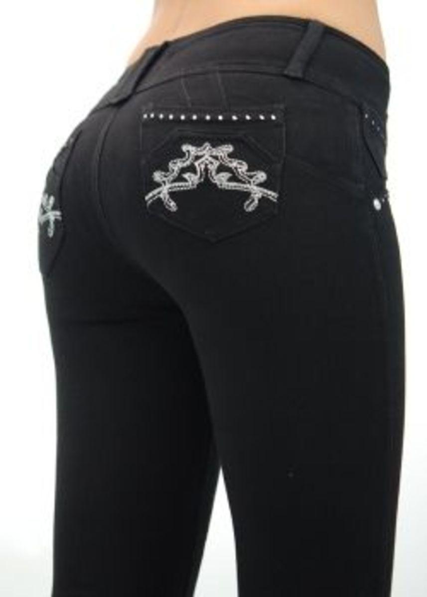 U-Turn Jeans style 113 Black