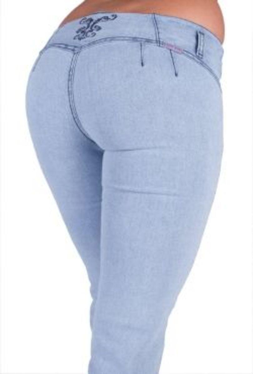 Brazilian Colombian U-Turn Jeans