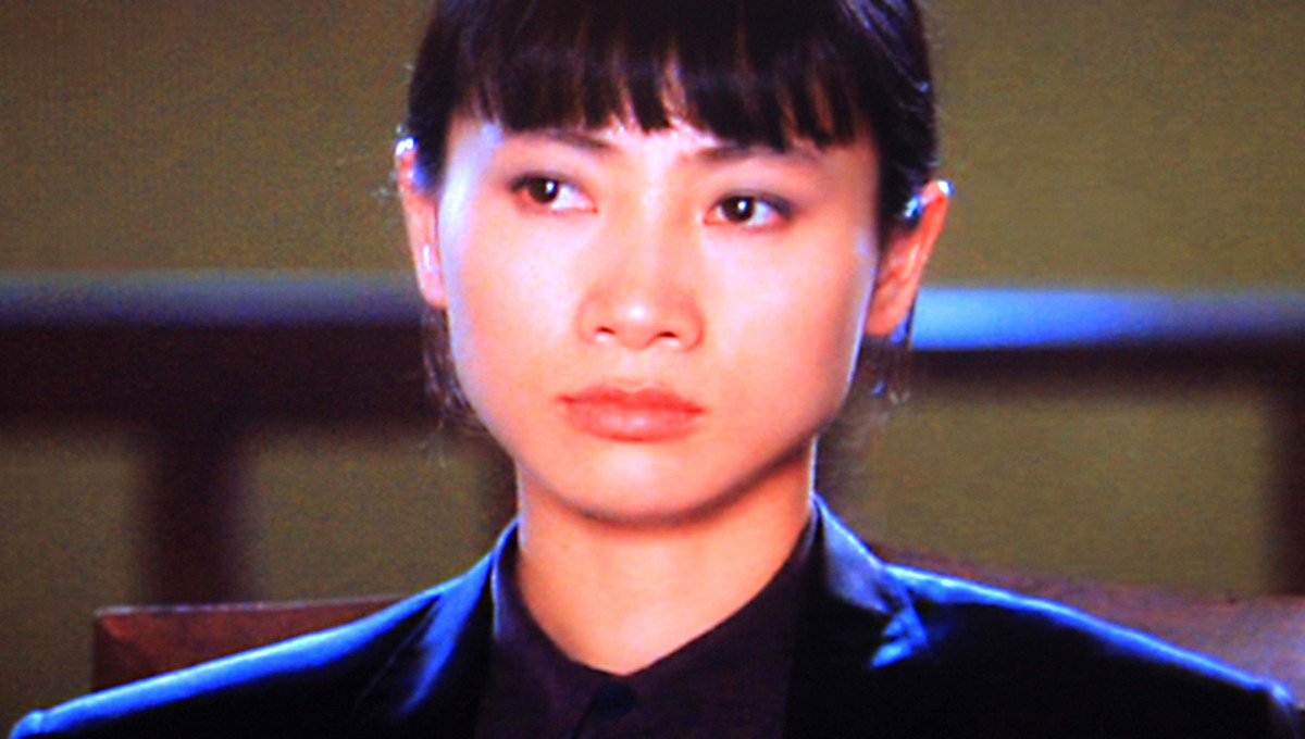 Bai ling in her first major film role - and possibly her best