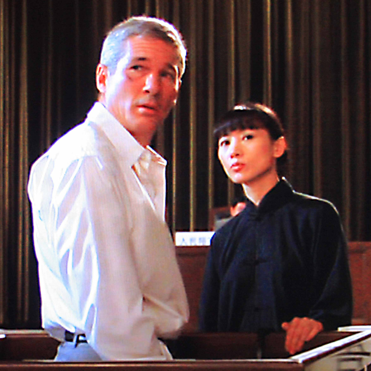 The two central characters have their day in court at the end of the movie