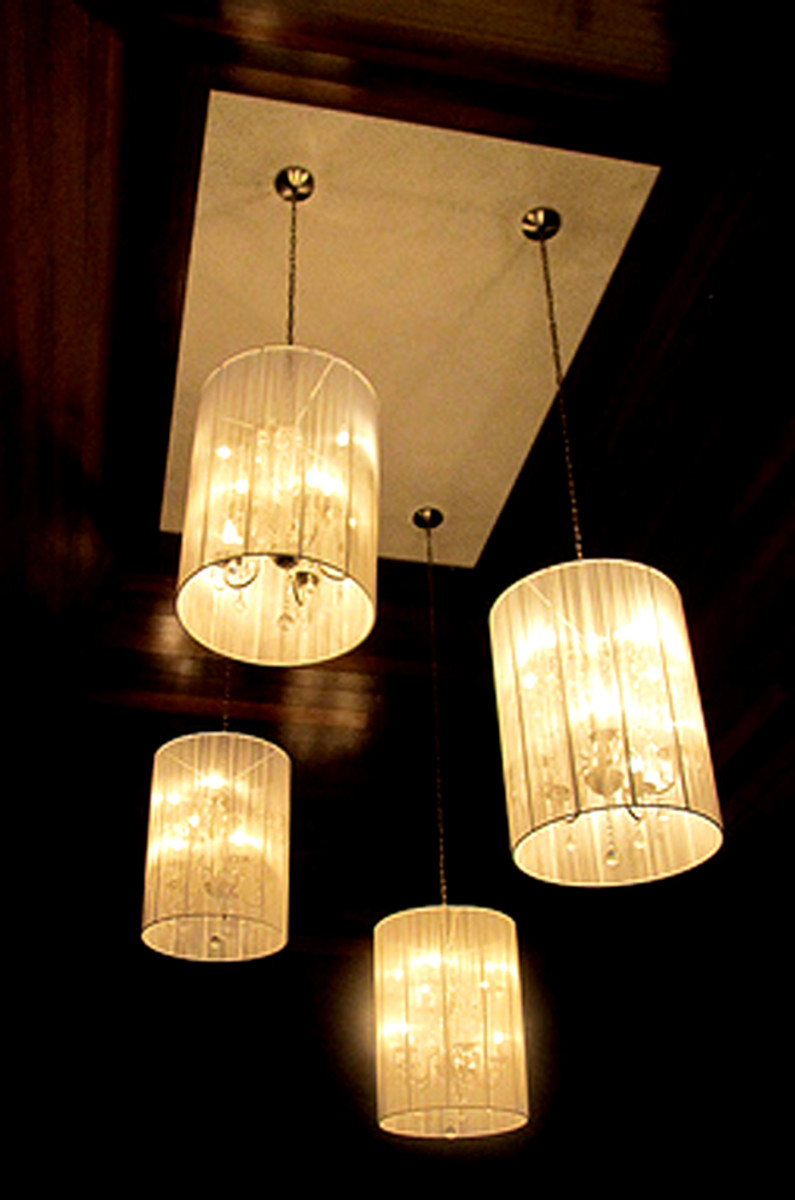 This light fixture exudes elegance without being too opulent.